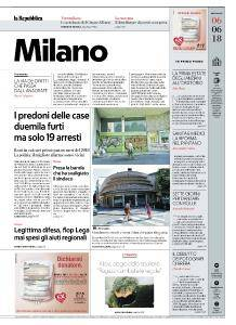 la Repubblica Milano - 6 Giugno 2018