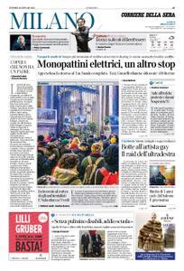 Corriere della Sera Milano – 10 gennaio 2020