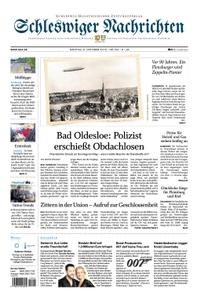 Schleswiger Nachrichten - 08. Oktober 2018