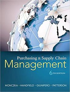 Purchasing and Supply Chain Management 6th Edition