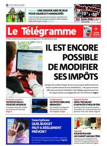 Le Télégramme Guingamp – 29 novembre 2019