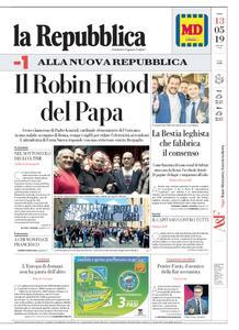 la Repubblica – 13 maggio 2019
