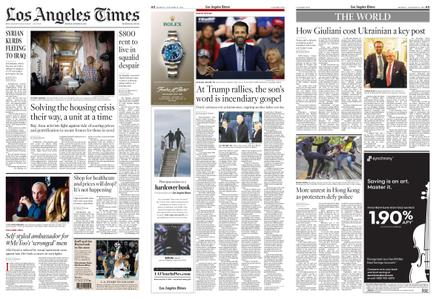 Los Angeles Times – October 21, 2019