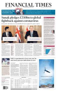 Financial Times UK - March 18, 2020