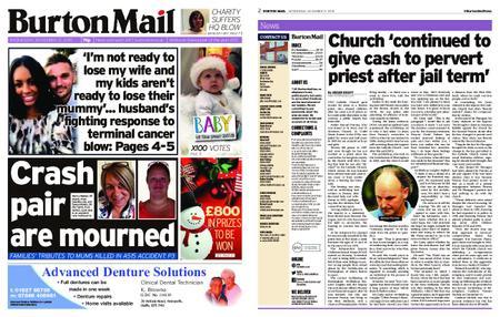 Burton Mail – November 21, 2018