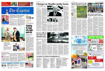 The Capital – October 30, 2017
