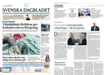 Svenska Dagbladet – 08 oktober 2018
