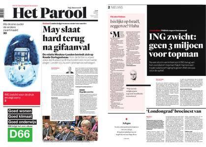 Het Parool – 13 maart 2018