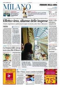 Corriere della Sera Milano – 01 febbraio 2020