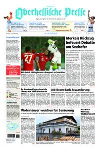 Oberhessische Presse Hinterland - 31. Oktober 2018