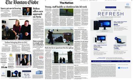 The Boston Globe – January 07, 2019