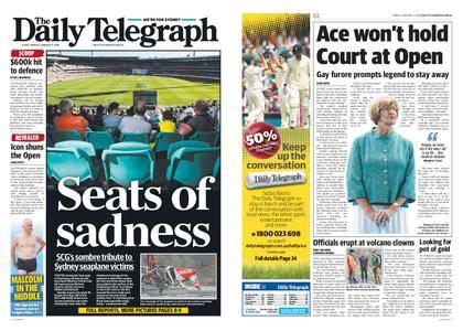 The Daily Telegraph (Sydney) – January 05, 2018