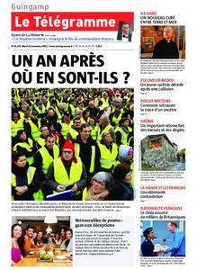 Le Télégramme Guingamp – 12 novembre 2019