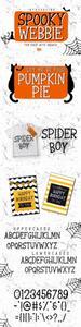 Spooky Webbie Font