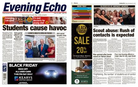 Evening Echo – November 23, 2018