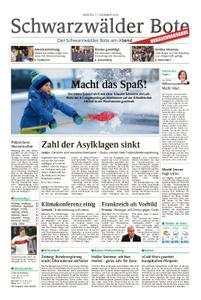 Schwarzwälder Bote Sulz - 17. Dezember 2018