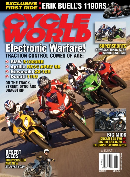 Cycle World - August 2011