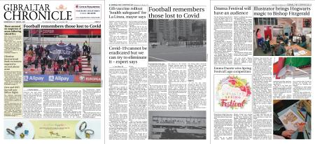 Gibraltar Chronicle – 31 March 2021