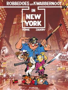"Strip - ""Robbedoes En Kwabbernoot - 39 - Robbedoes In New York cbr"