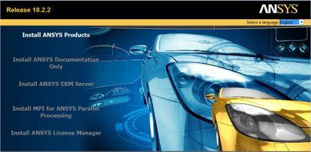 ANSYS Products v18.2.2 Update Only (x64) Multilingual (Win/Lnx)