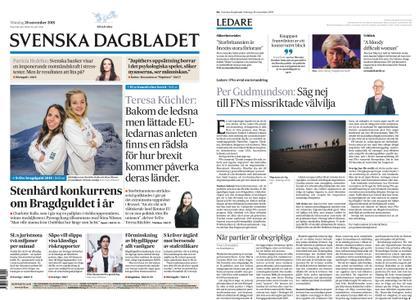 Svenska Dagbladet – 26 november 2018