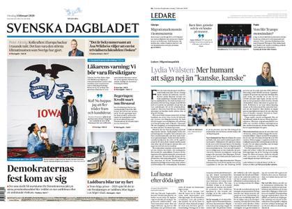Svenska Dagbladet – 05 februari 2020