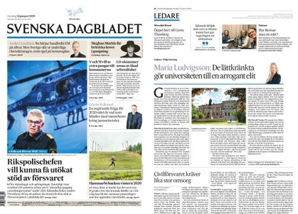 Svenska Dagbladet – 15 januari 2020