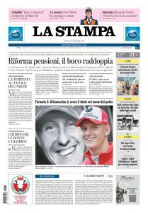La Stampa Imperia e Sanremo - 13 Ottobre 2018