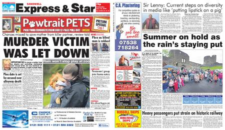Express and Star Sandwell Edition – June 12, 2019