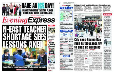Evening Express – December 27, 2017