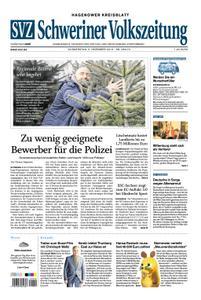 Schweriner Volkszeitung Hagenower Kreisblatt - 05. Dezember 2019