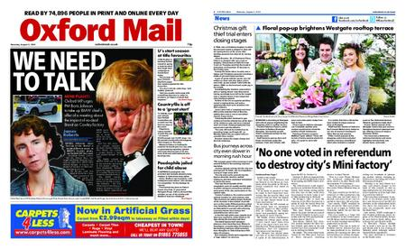 Oxford Mail – August 03, 2019