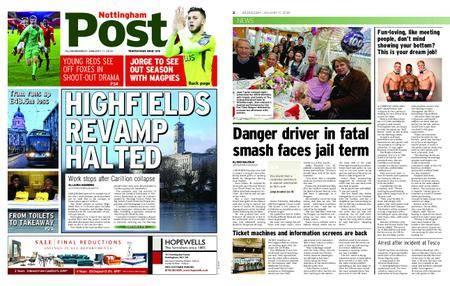 Nottingham Post – January 17, 2018