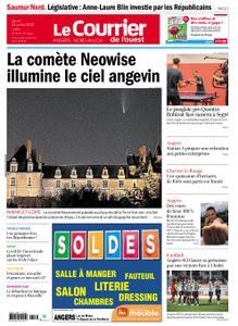 Le Courrier de l'Ouest Angers – 23 juillet 2020