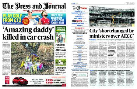 The Press and Journal Moray – March 19, 2018