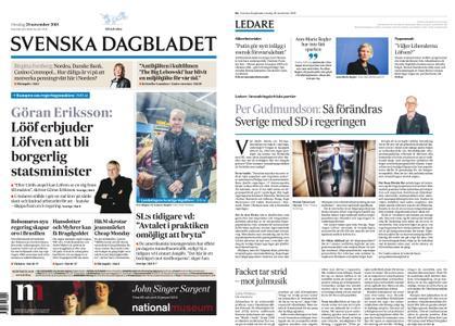 Svenska Dagbladet – 28 november 2018