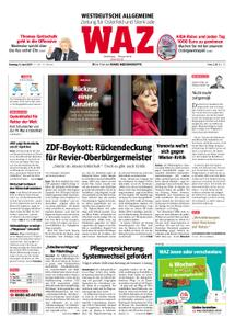 WAZ Westdeutsche Allgemeine Zeitung Oberhausen-Sterkrade - 09. April 2019
