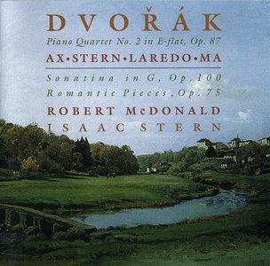 Isaac Stern, Emanuel Ax, McDonald, Laredo, Yo-Yo Ma - Antonin Dvorak: Piano Quartet No. 2; Romantic Pieces; Sonatina (1996)