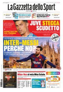 La Gazzetta dello Sport – 24 luglio 2020