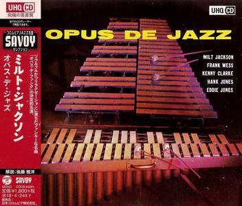 Milt Jackson - Opus De Jazz (1955) Japanese UHQCD Remastered Reissue 2017