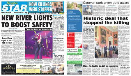 Shropshire Star Shrewsbury Edition – April 10, 2018