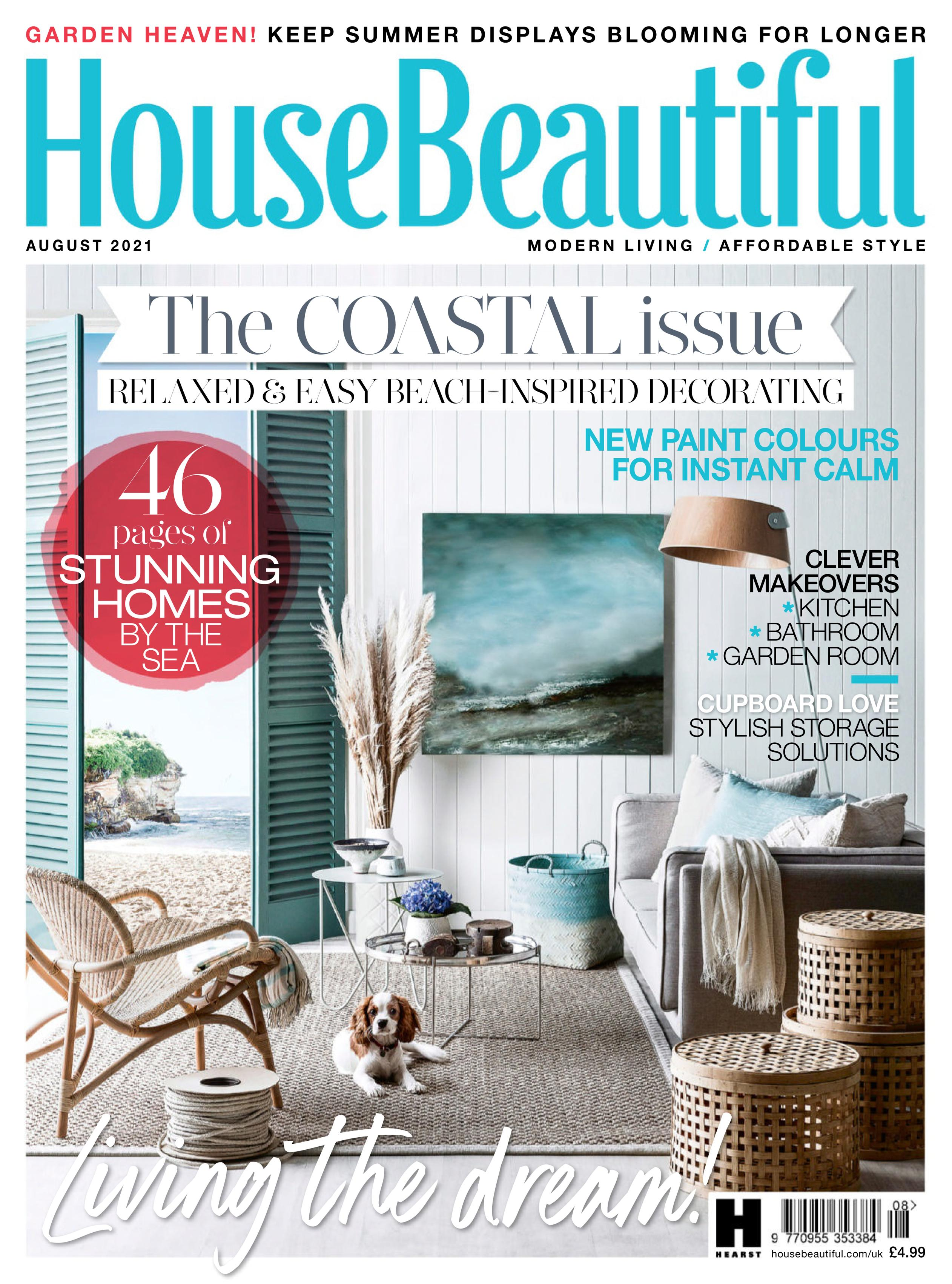 House Beautiful UK - August 2021