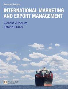 International Marketing & Export Management, 7th Edition