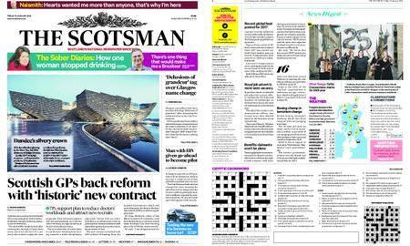 The Scotsman – January 19, 2018