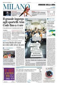 Corriere della Sera Milano – 09 ottobre 2019