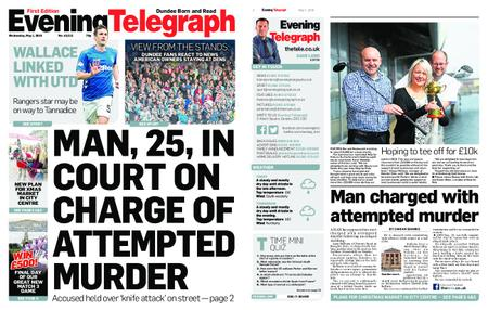 Evening Telegraph First Edition – May 01, 2019