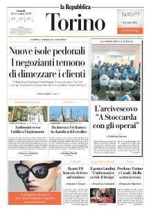 la Repubblica Torino - 18 Novembre 2019