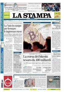 La Stampa Torino Provincia e Canavese - 10 Dicembre 2017