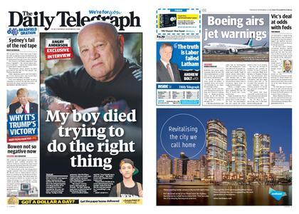 The Daily Telegraph (Sydney) – November 08, 2018