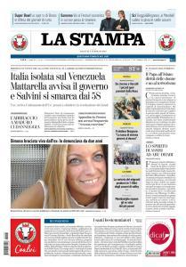 La Stampa Torino Provincia e Canavese - 5 Febbraio 2019